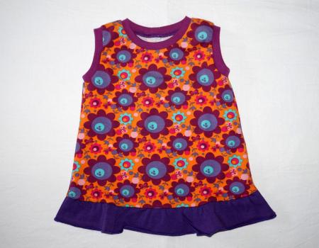 """Bio Jerseykleid """"bunte Blumen"""""""