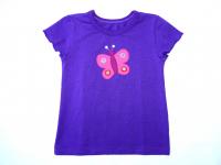 """Bio Mädchen-T-Shirt """"Schmetterling"""""""