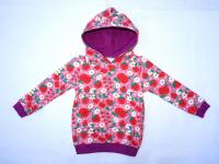 """Bio Kaputzensweater """"rote Früchte"""""""