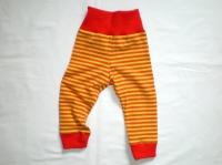 Bio-Ringel-Legging gelb/orange