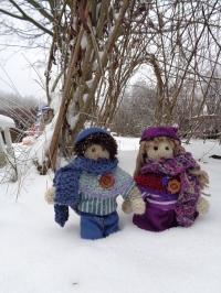 Winter bei den Wichtelkindern